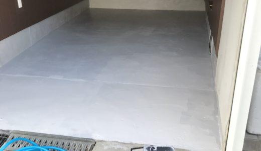 ガレージ塗装 DIYの仕方