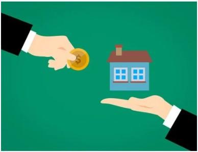 独身大家の月別家賃収入推移